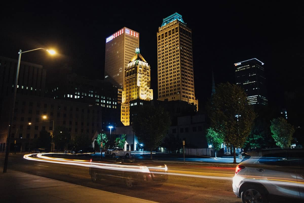 Downtown Tulsa at Night