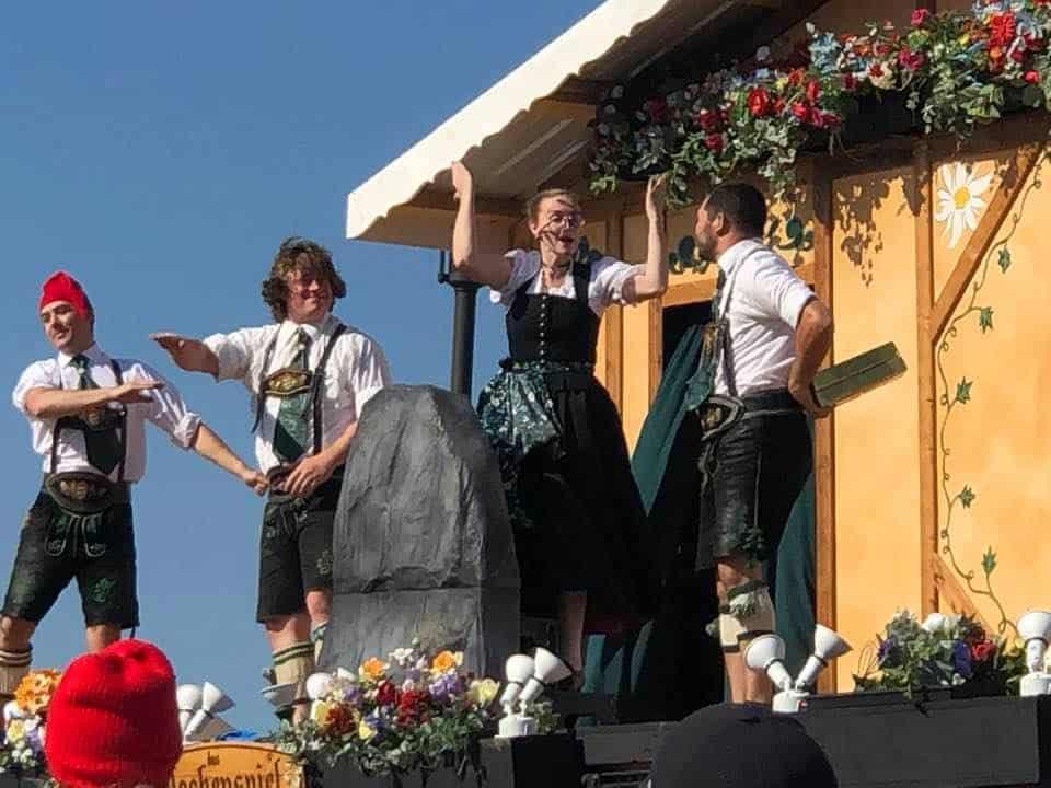 Glockenspiel performance - Oktoberfest 2019 - Tulsa, OK